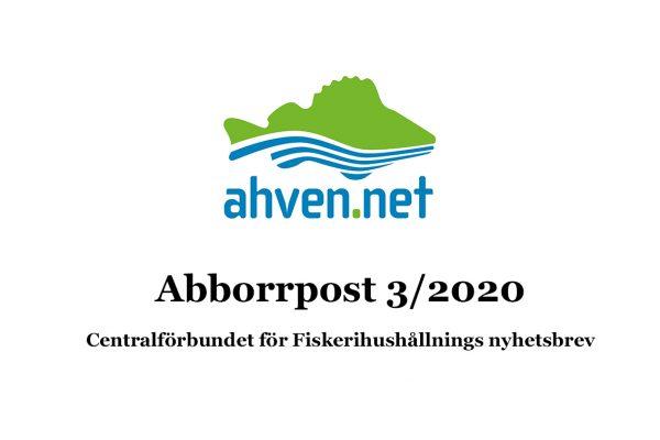 Abborrpost 3/2020