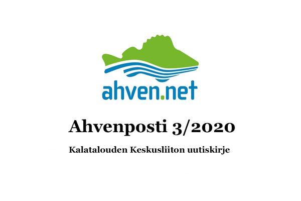 Ahvenposti 3/2020