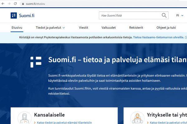 Kalatalousalueet ja osakaskunnat siirtyvät käyttämään Suomi.fi-palvelua