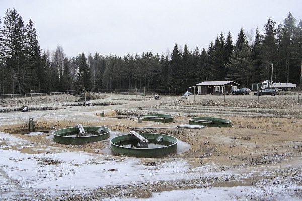 Etelä-Savon kalatalouskeskuksen kalanviljelylaitos.