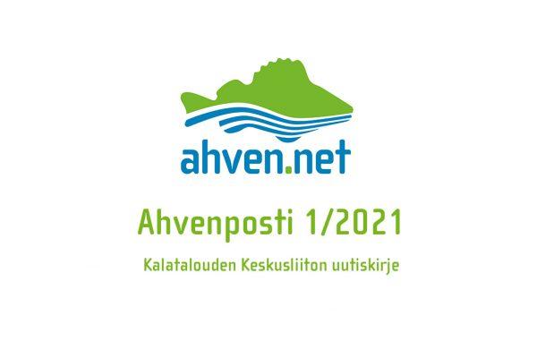 Ahvenposti on Kalatalouden Keskusliiton sähköinen uutiskirje.
