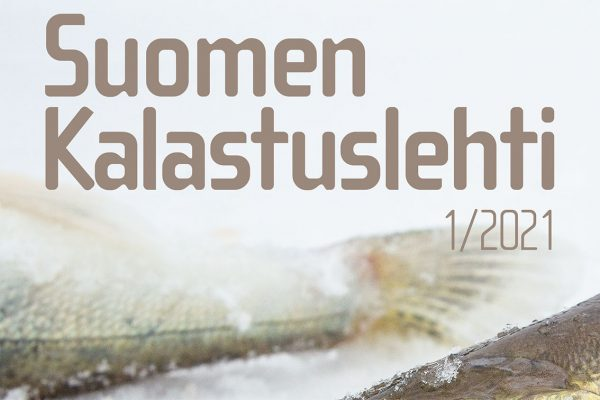 Suomen Kalastuslehden 1/2021 kansi.