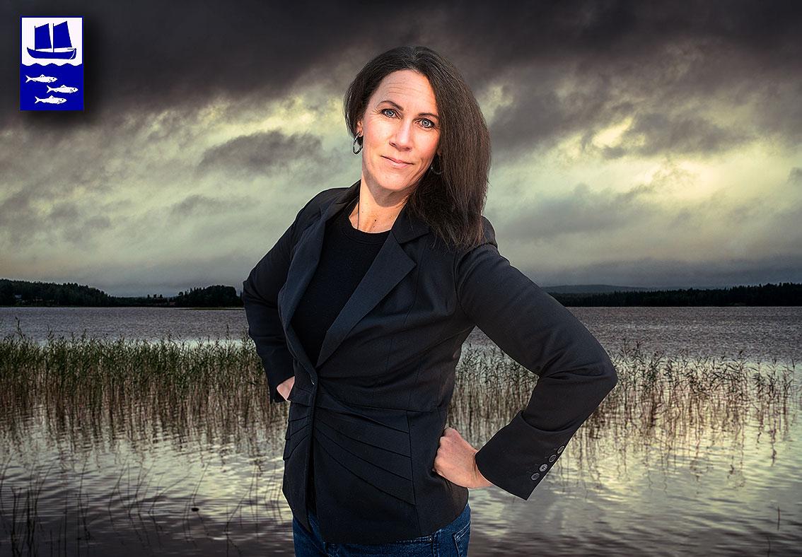 Nylands Fiskarförbundin toiminnanjohtaja Joan Granqvist.