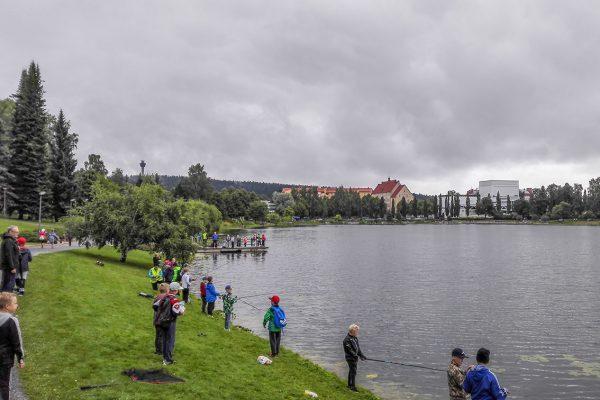Pohjois-Savon Kalatalouskeskus järjestää lapsille Valtakunnalisen kalastuspäivän tapahtuman Kuopiossa.